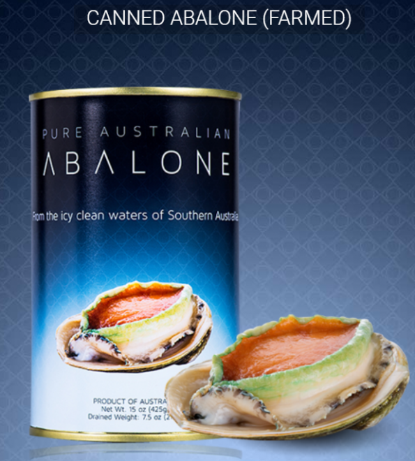 Canned Farmed Abalone