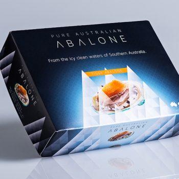 Frozen Tiger Abalone box