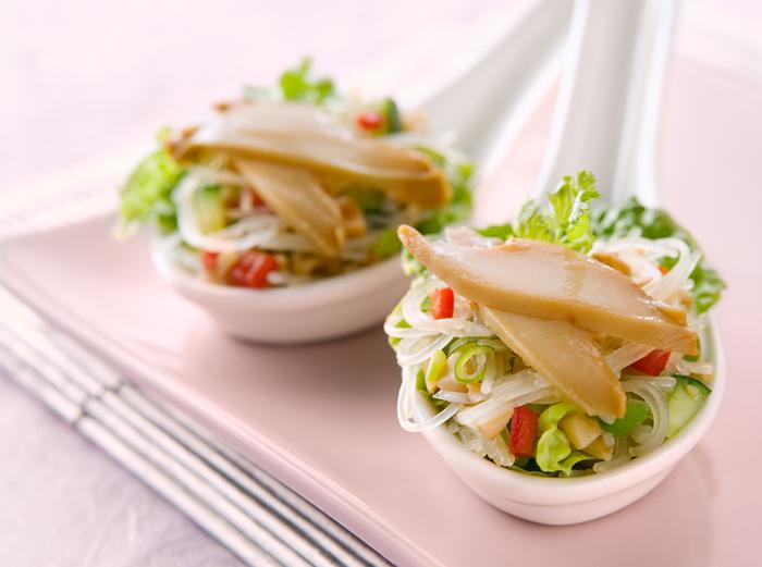 San Choy Bow Abalone dish